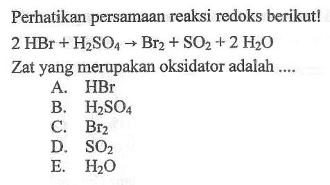 Soal Un Redoks Dan Pembahasan Materi Kimia